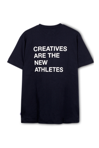 Navy Creatives Are the New Athletes Tee