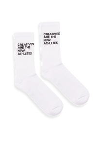 White Creatives Are The New Athletes Socks