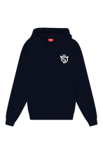 Load image into Gallery viewer, Good vs. Bad Hoodie | Navy
