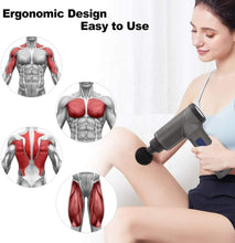 Load image into Gallery viewer, Cordless Gun Rechargeable Muscle Massager