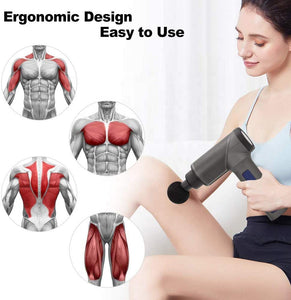 Cordless Gun Rechargeable Muscle Massager