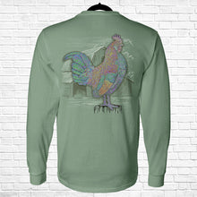 Load image into Gallery viewer, Ribbon Rooster Long Sleeve Tee