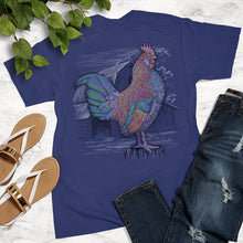 Load image into Gallery viewer, Ribbon Rooster Tee