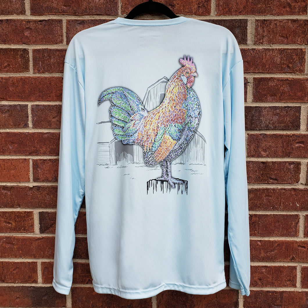 Ribbon Rooster Performance Shirt