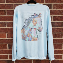 Load image into Gallery viewer, Ribbon Horses Performance Shirt