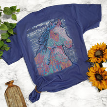 Load image into Gallery viewer, Ribbon Horses Tee