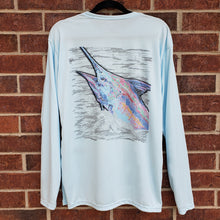 Load image into Gallery viewer, Ribbon Blue Marlin Performance Shirt