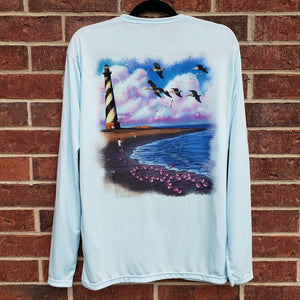 Cape Hatteras Lighthouse Performance Shirt