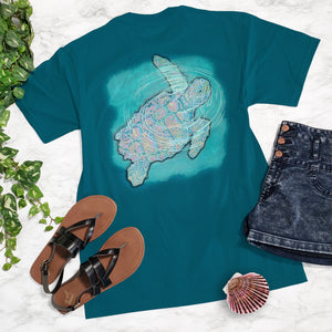 Ribbon Sea Turtle Tee