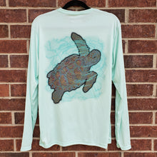 Load image into Gallery viewer, Ribbon Sea Turtle Performance Shirt