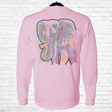 Load image into Gallery viewer, Ribbon Elephant Long Sleeve Tee
