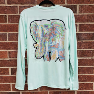 Ribbon Elephant Performance Shirt