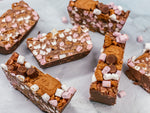 Load image into Gallery viewer, Milk Chocolate, Biscoff & Peanut Butter Rocky Road