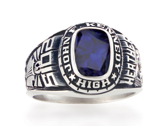 Women's School Ring  Celebrity - Year Name Stone