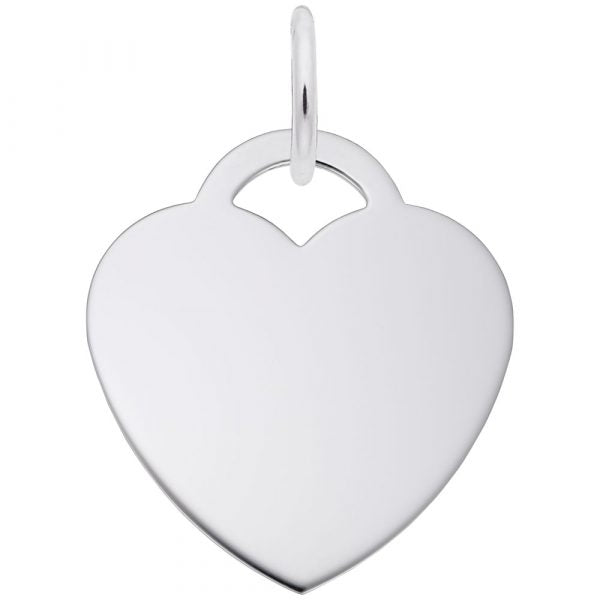 Large Heart Classic Series Pendant Charm