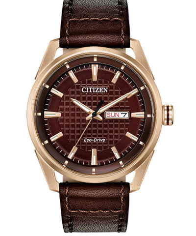 Citizen Eco-Drive CTO Brown Watch