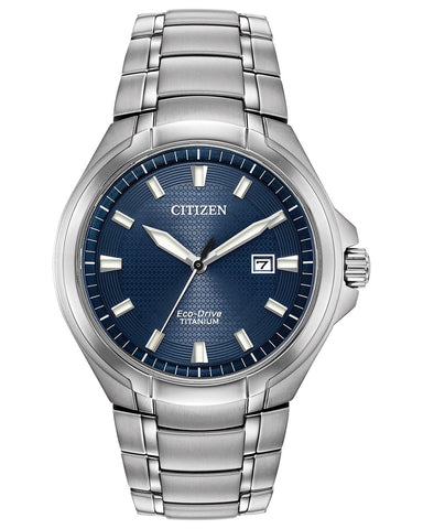 Citizen Paradigm Super Titanium Eco-Drive Blue Dial Men's Watch