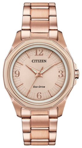 Citizen Eco-Drive Rose tone Watch