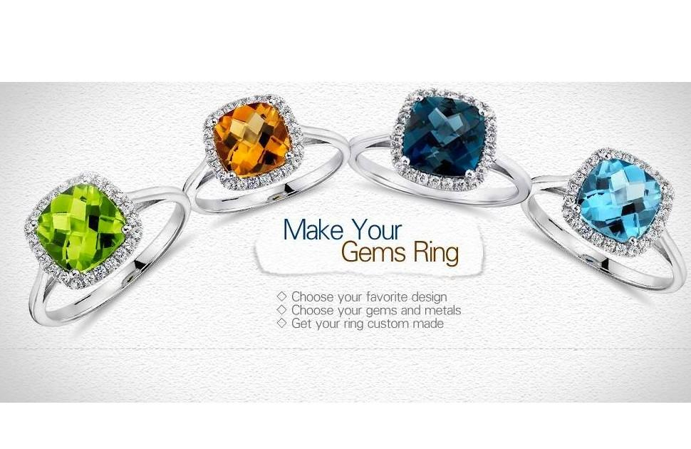 Your one-of-a-kind ring means so much more when it's design made for you.