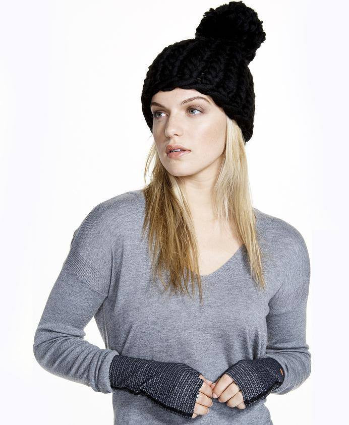 Alpine Hat - Black - INFLOWSTYLE  - 2