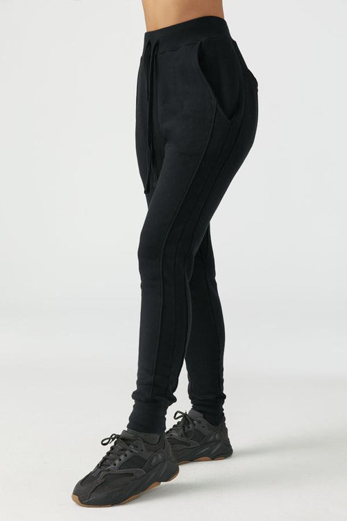 Stadium Pant - Black French Terry