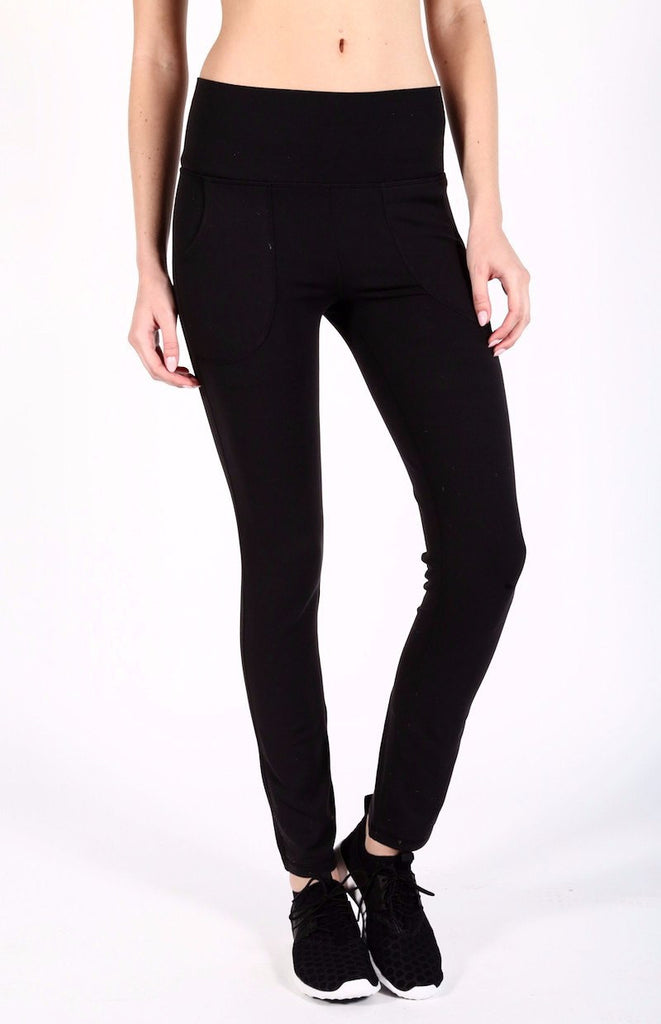 Uptown High Waisted Legging - INFLOWSTYLE  - 1