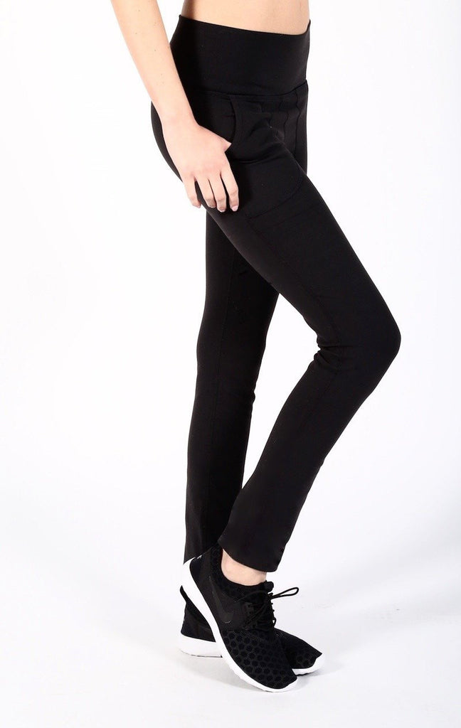 Uptown High Waisted Legging - INFLOWSTYLE  - 2