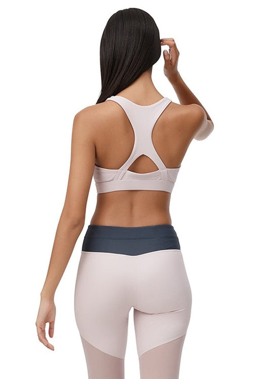 Aero Pink Sports Bra - All Fenix | INFLOWSTYLE
