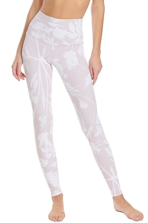 Philly Ankle Legging - White Blossom