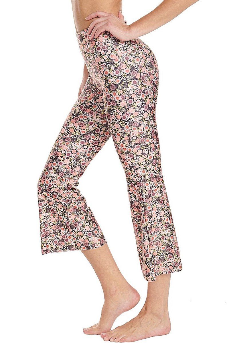 Boot Cut Crop - Daisy - Onzie | INFLOWSTYLE