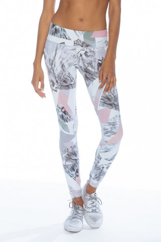 Printed Long Legging - Horizon