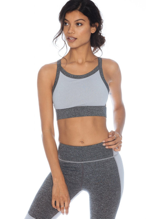 Be Free Crop - Grey Heather - Nimble | INFLOWSTYLE