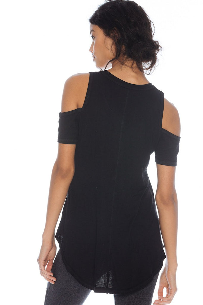 Serenity Cold Shoulder Tee