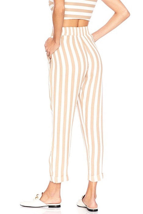 Carter Pant - Stripe - Beach Riot | INFLOWSTYLE