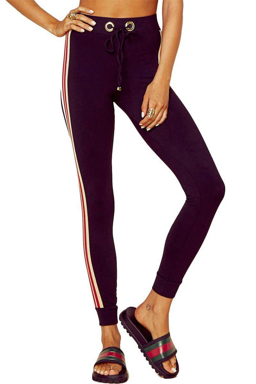 Sporty Jogger - Black/Red - Blue Life Fit | INFLOWSTYLE