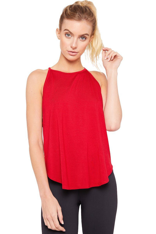 The Elle Tank - Red