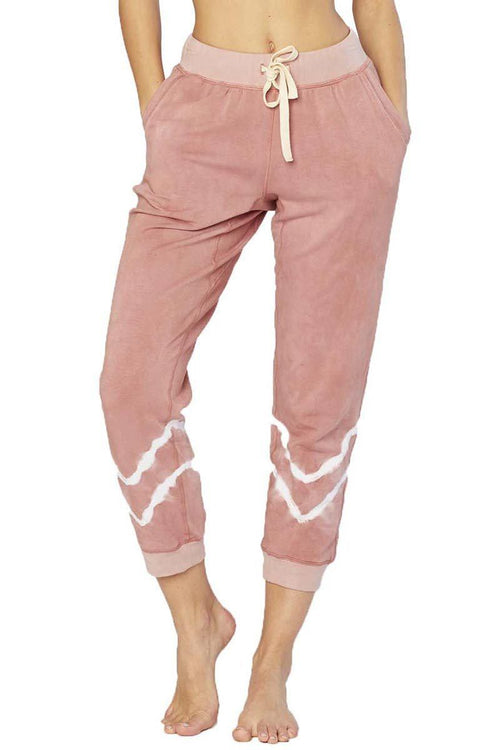 Abbot Kinney Sweatpant - Lady Moon - Electric & Rose | INFLOWSTYLE