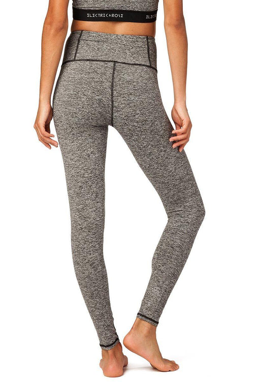 Ashland Legging - Heather Grey - Electric & Rose | INFLOWSTYLE