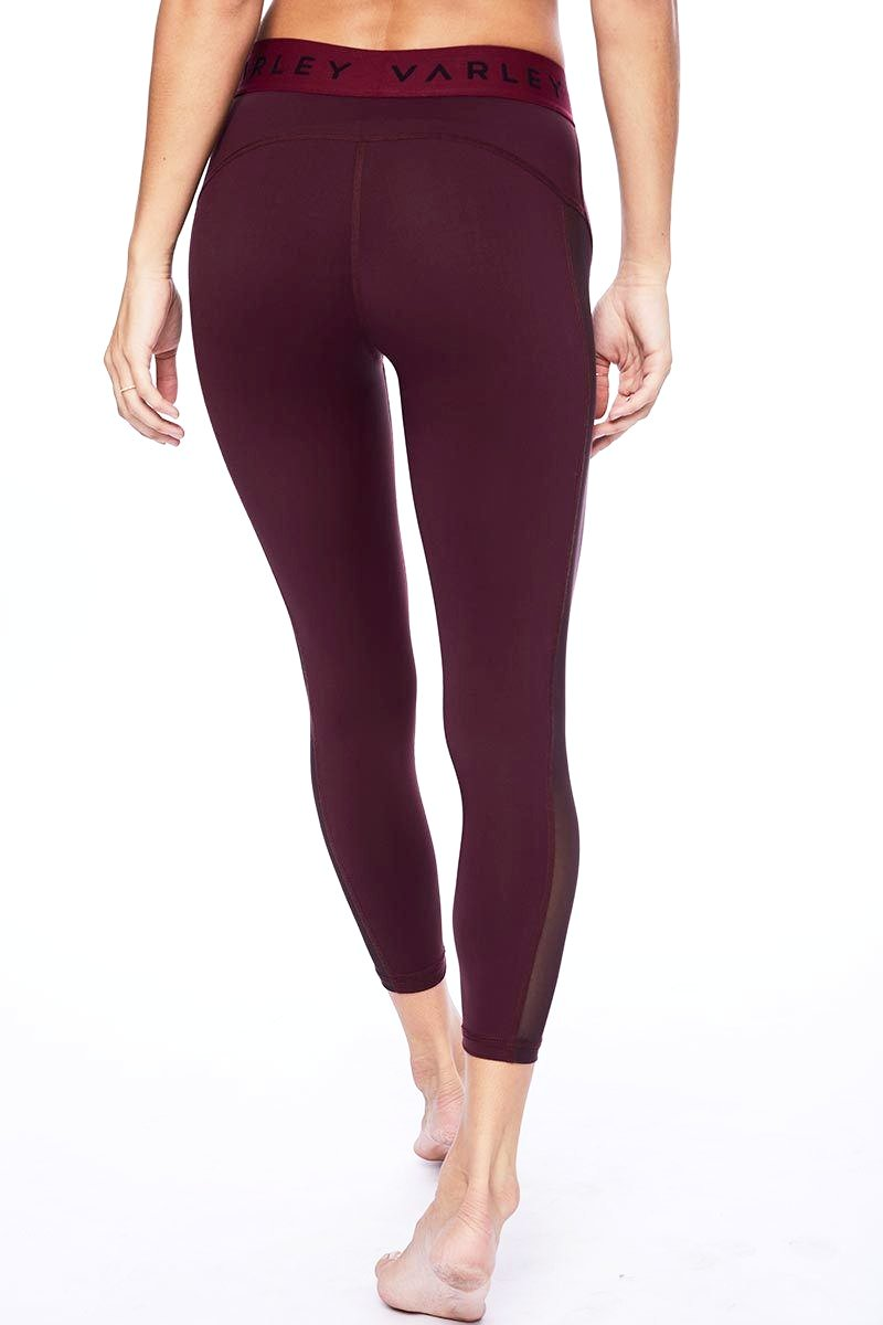 Alden Cropped Tight - Raspberry - Varley | INFLOWSTYLE