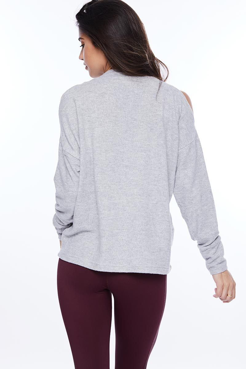 Carbon Revive Sweat - Light Grey - Varley | INFLOWSTYLE