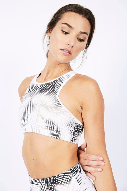 Leah Bra - White/Gold - Nux | INFLOWSTYLE