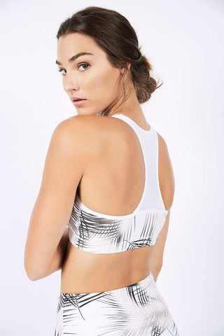 Leah Bra - White/Gold