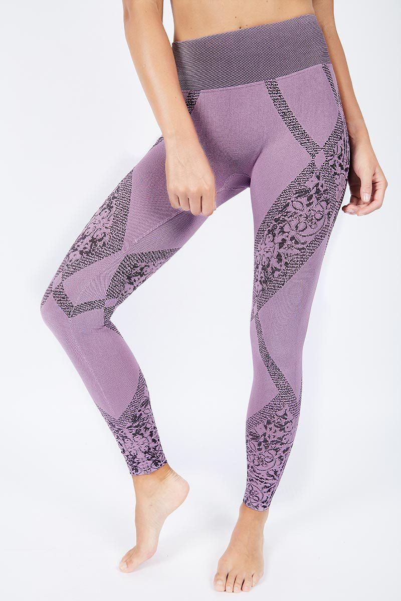 Gia Legging - Light Orchid - Nux | INFLOWSTYLE