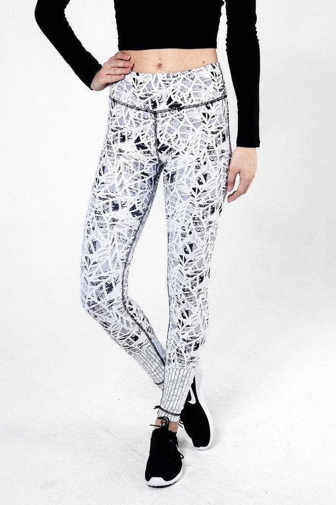 Leaf Jacquard Pant - INFLOWSTYLE  - 4