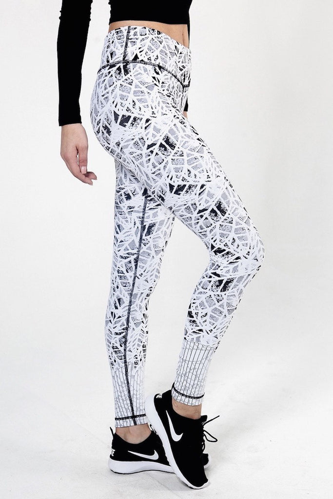 Leaf Jacquard Pant - INFLOWSTYLE  - 2