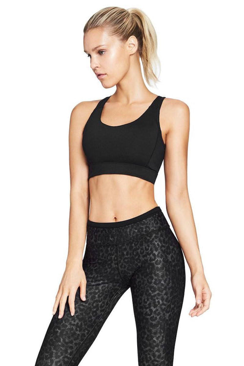 Grace Sports Bra - Black - Nimble | INFLOWSTYLE