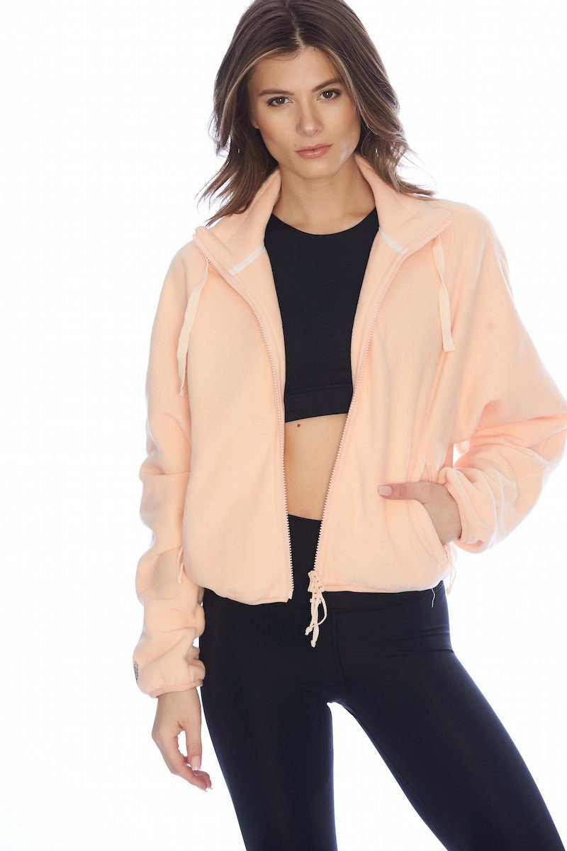 Higher Ground Fleece Zip - Free People | INFLOWSTYLE