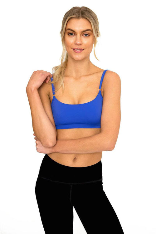 Infinity Sports Bras - Azure - Dharma Bums | INFLOWSTYLE