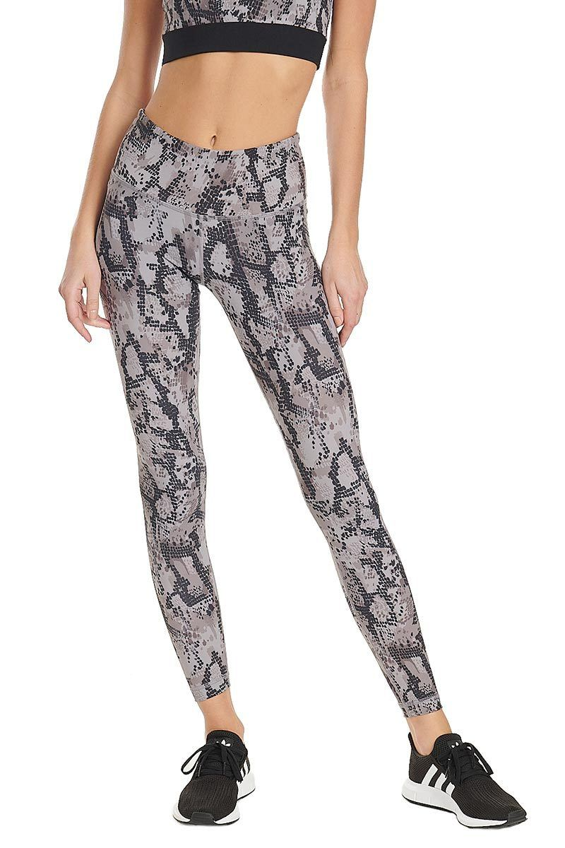 High Waist Core Legging - Taupe Python - Vimmia | INFLOWSTYLE
