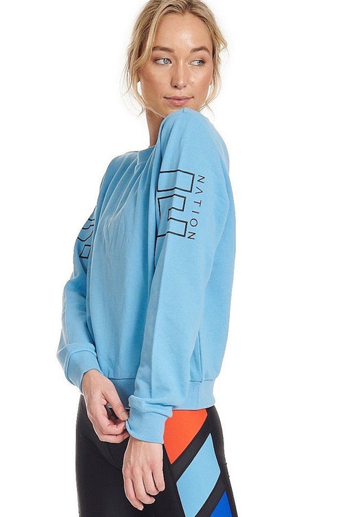 Money Ball Sweat - Sky Blue